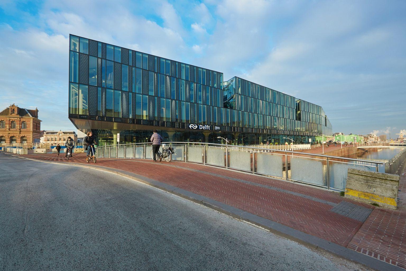 Het nieuwe stadskantoor van Delft